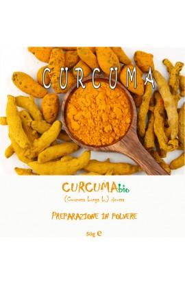 Curcuma - preparato in polvere 50gr.